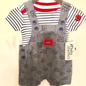 Other - Baby overalls and onesie outfit